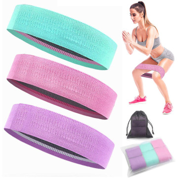 Wholesale Custom Logo Gym Fabric Resistance Bands