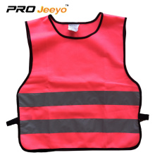 visibility fabric reflective safety vests for child