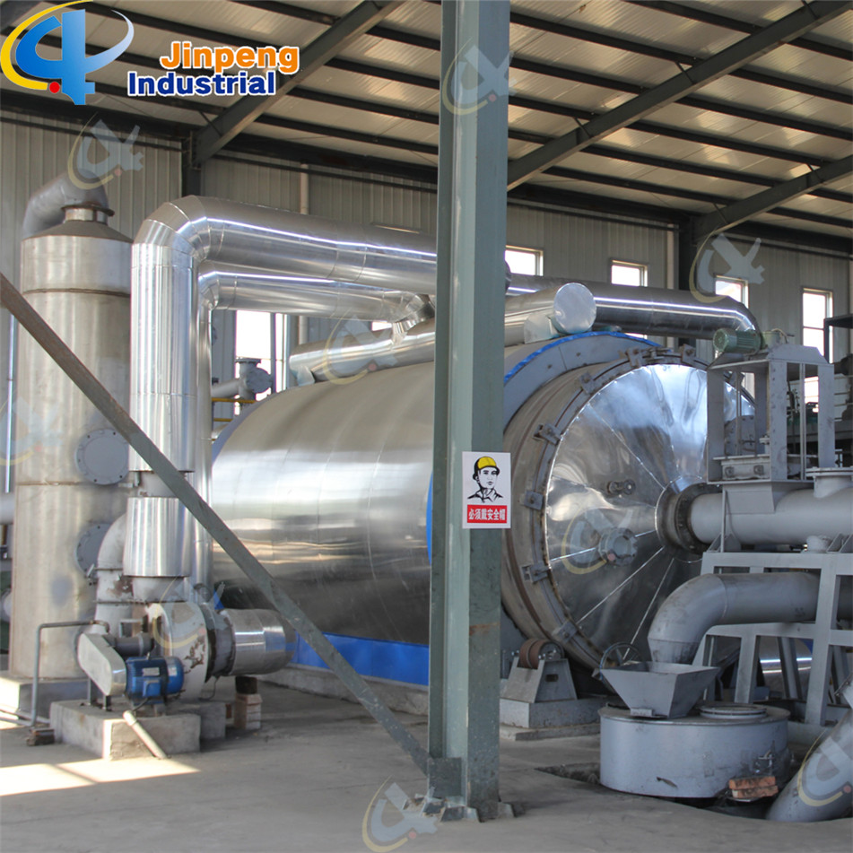 batch used rubber recycling plant