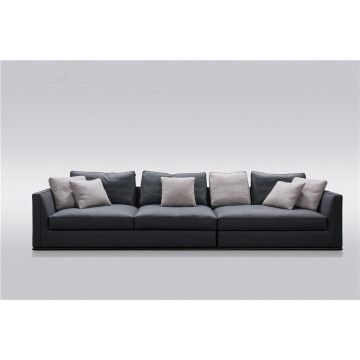 Full grain leather sofa