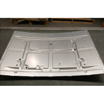 43 inch side-entry curved TV backplane