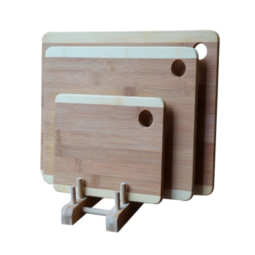 Set of 3 bamboo cutting board