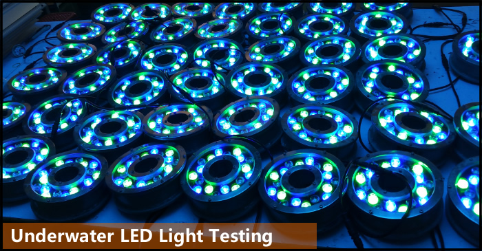 underwater light aging test