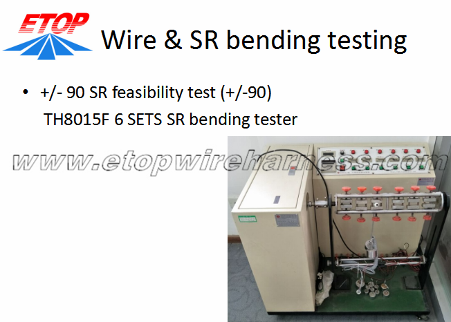 WIRE BENGING TESTER