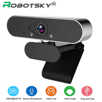 1080P High Speed Web Camera Build In Microphone For Desktop/Laptop Webcame Rotable Auto Focus For Conferencing Live Broadcast