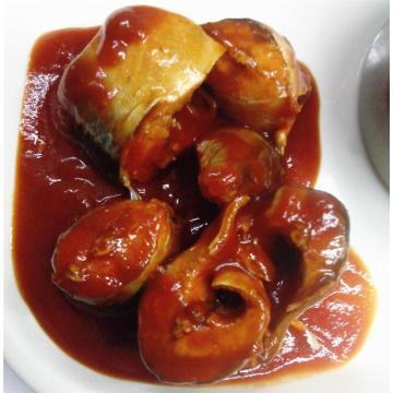 Canned Mackerel in Tomato Sauce With Hot Chili