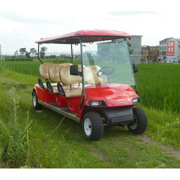 6 passenger battery operated electrical golf carts