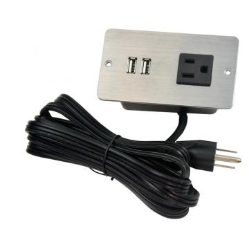 US Single Outlet Socket With USB