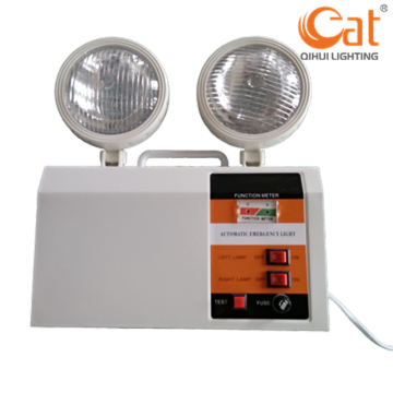 Emergency Twin Heads Lanterns With Li-ion Battery Backup