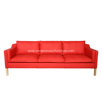 Modern Leather Sofa Mogensen 2213 3-Seater Sofa