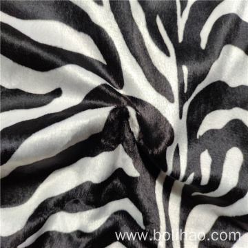Printed Super Soft Short Piush Fabric