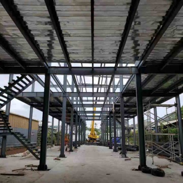 Prefabricated steel structure building construction