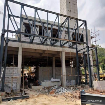 Fabricated Light Large Trussed Frame Steel Structure