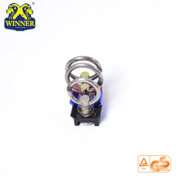 Aluminum Base Single Stud Fitting With SS O Ring For Cargo Control