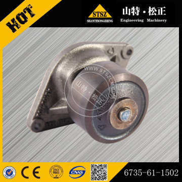 Komatsu spare parts PC200-7 Excavator water pump 6735-61-1502
