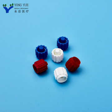 luer locking screw cover white