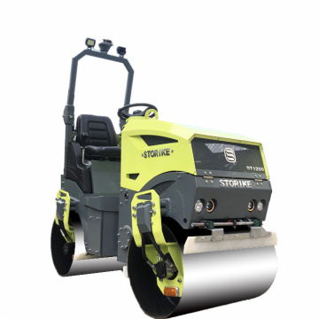 Super quality Honda engine construction road roller 1200KG