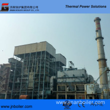 130 T/H Water-Cooling Vibrating Grate Cloth Fired Boiler