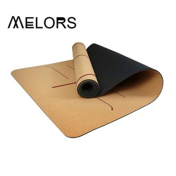 Cork Yoga Mat for working out exercises