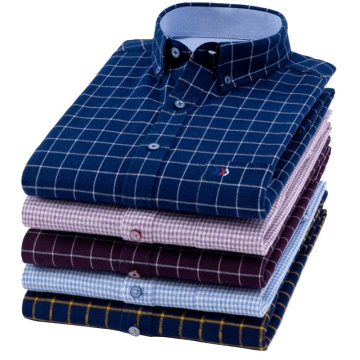 OEM Latest Design Shirts For Men Checked