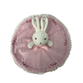 Plush Rabbit Comforter Pink
