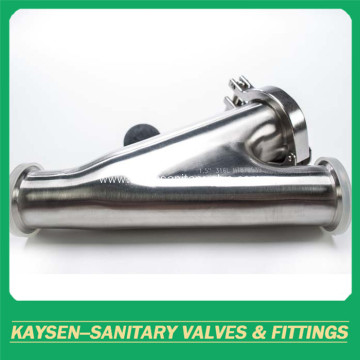 Sanitary Y-ball check valve