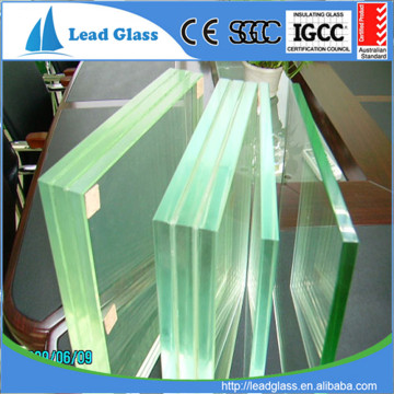 10.76 Clear PVB Tempered Laminated Glass Price
