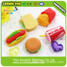 Chips Erasers,Puzzle Food Eraser Sets Gift