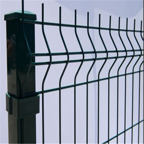 3d triangle curved fence panel bending fence