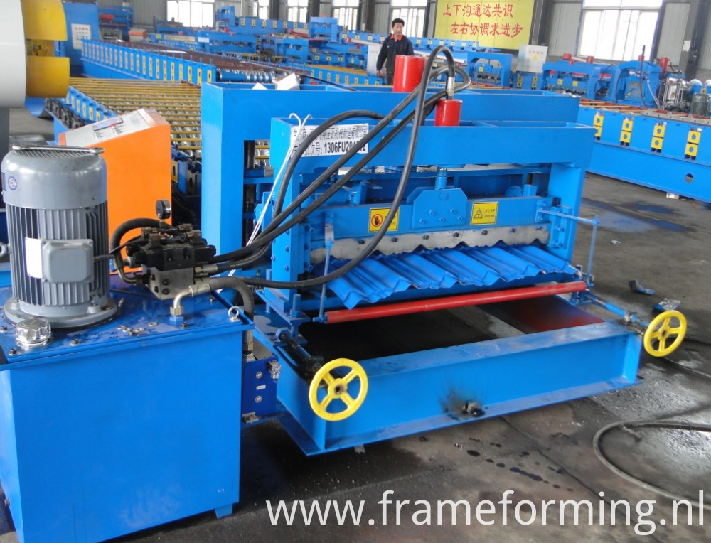 glazed tile roll forming machine 3