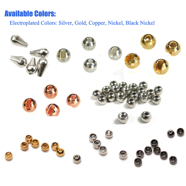 Color of tungsten beads hole
