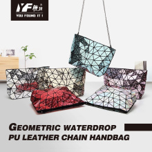 Geometric water drop handbag for women shoulder bag