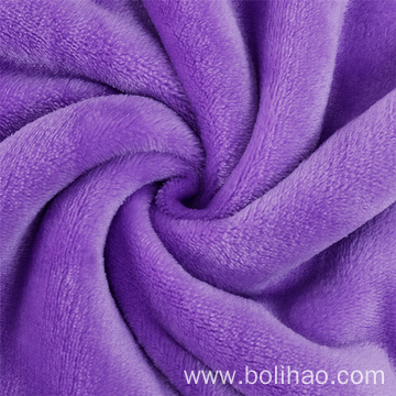 Dyed Flannel Fleece Fabric