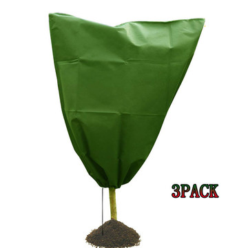 3Pcs Plant Covers Winter Warm Cover Tree Shrub Plant Protecting Bag Frost Protection Yard Garden Winter Patio Trees vegetables