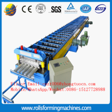 Decking floor sheet roll forming machine