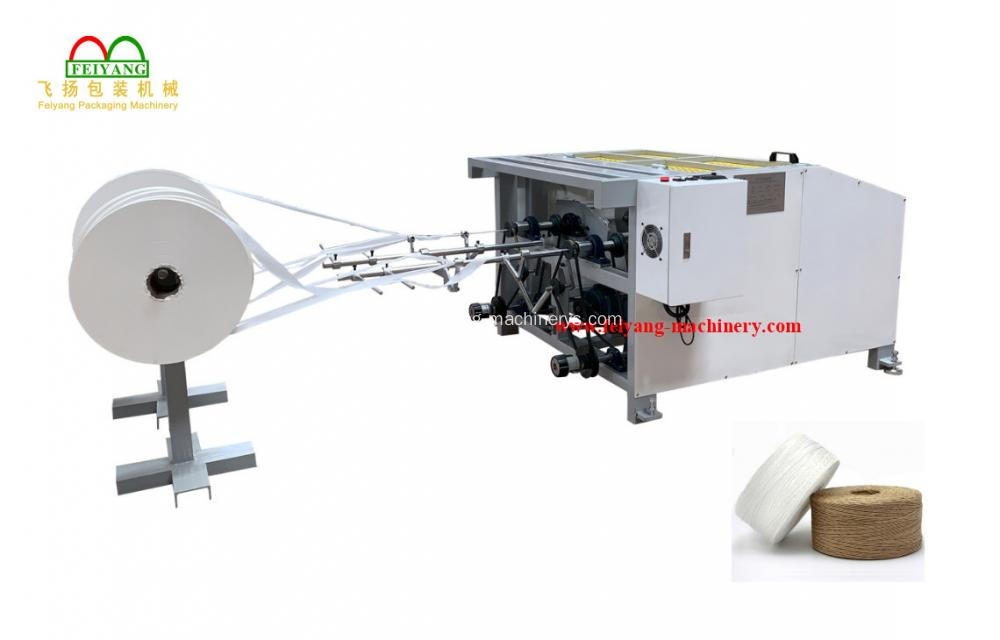 Carry Bag Paper Rope Making Machine