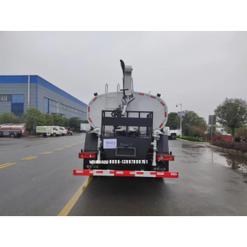 4X4 Water Truck With Solar Panel Cleaning Facilites