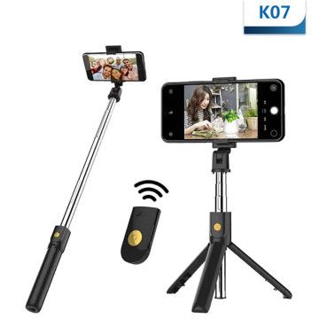 3in1 Wireless Bluetooth Selfie Stick Extendable Handheld Monopod Foldable Mini Tripod With Shutter Remote For iPhone IOS Android
