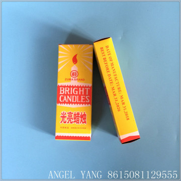 zhongya candle factory making candle bright