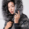 Mink Fur Coat For Lady Reversible