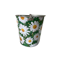 galvanized ice bucket with handle for garden