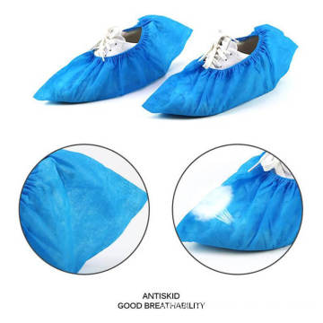 Wholesale Waterproof Foot Shoe Covers Disposable Non Woven Fabric Non Slip Boot Covers