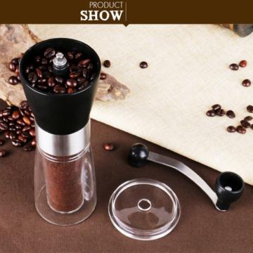 Manual Coffee Grinder Stainless Steel Mini Hand Coffee Bean Mill Ручная Кофемолка Kitchen Tools Coffeeware