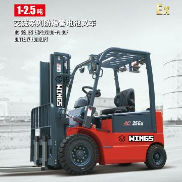 Explosion-proof Battery Forklift 1ton IIC