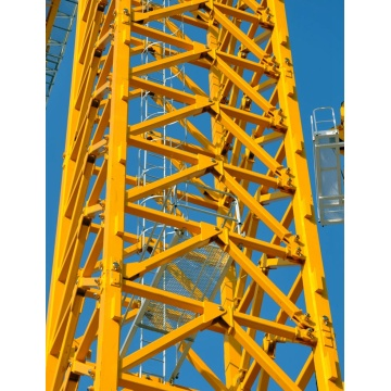 QTZ80-6012-6T tower crane for the construction site