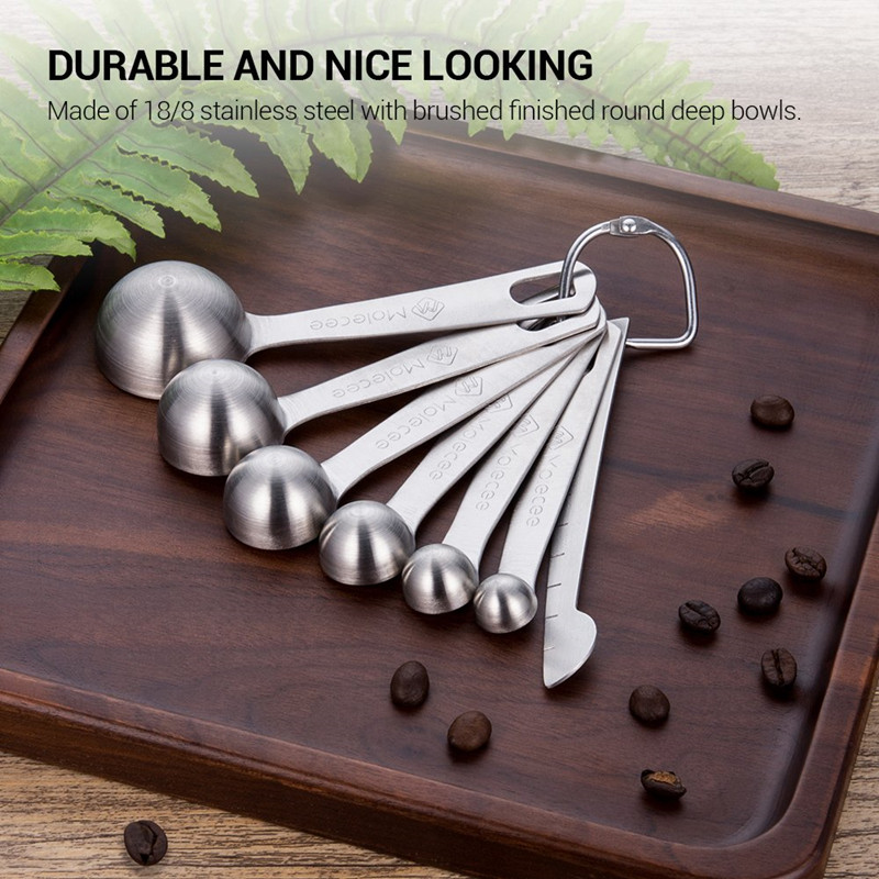 Contracted Stainless Steel Measuring Spoons Set