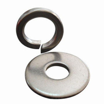 flat washer and spring washer