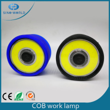 ABS Silicon Mini Portable Led Cob Work Light