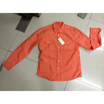 Orange shirts cotton shirts men's shirts