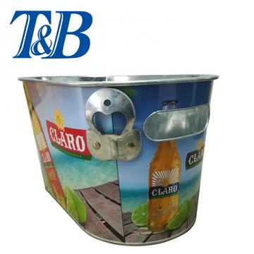 Ice Bucket With Inner and bottle opener